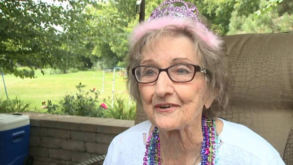 Grandmother celebrates 100th birthday with favorite beer