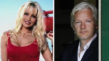 Pamela Anderson visits Julian Assange in London prison: 'This is just misrule of law'