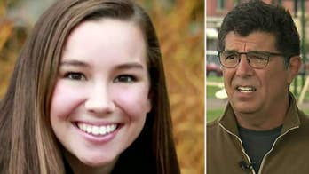 Rob Tibbetts says he is hopeful that the missing college student is 'going through something that she can survive.'
