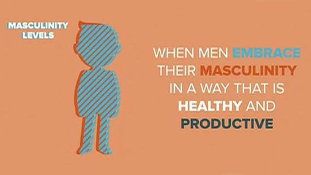 New campaign to 'make men masculine again'
