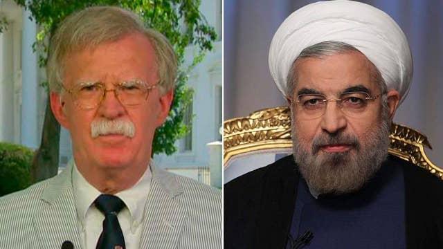 John Bolton: We want to put 'unprecedented pressure' on Iran