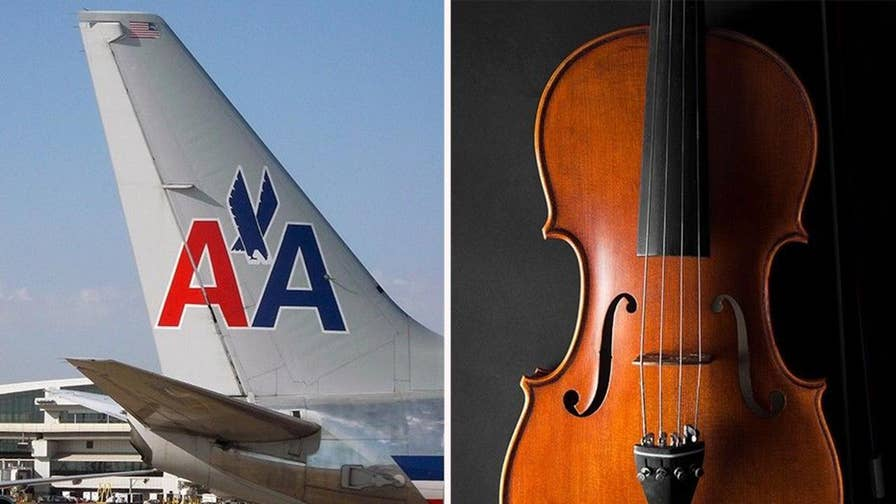 Passenger says she was removed from American Airlines flight before takeoff because size of her cello, even though she purchased a seat for the instrument.