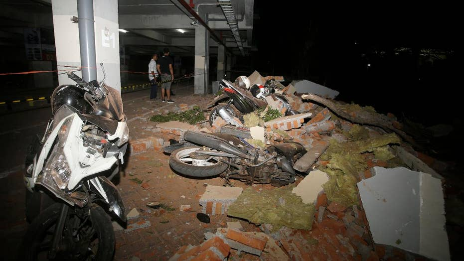 Indonesia earthquake leaves at least 82 dead