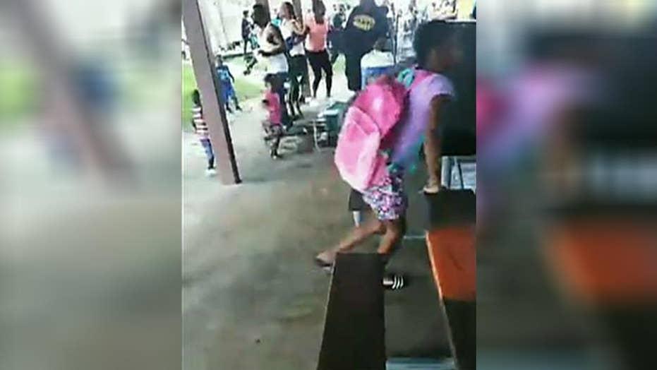 Bystander with gun stops shooting at Florida park