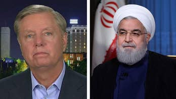 Republican senator from South Carolina urges President Trump to 'stay tough' with Tehran.
