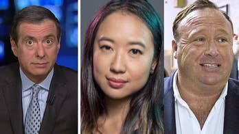 'MediaBuzz' host Howard Kurtz weighs in on the increasing difficulty of defending the New York Times for hiring Sarah Jeong, a writer with a history of racist and anti-Trump tweets, while Facebook, Apple and other tech giants are perfectly comfortable banning Alex Jones.