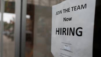 The Labor Department says the number of open positions topped 6.6 million in June, but fewer than 6.6 million people were searching for work.