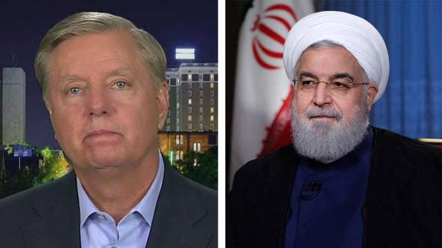 Sen. Lindsey Graham advocates for regime change in Iran