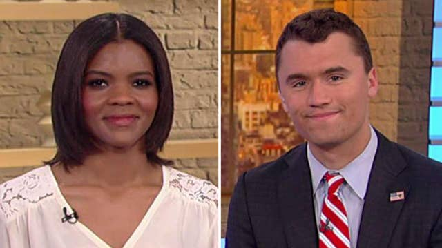 Candace Owens and Charlie Kirk describe being harassed