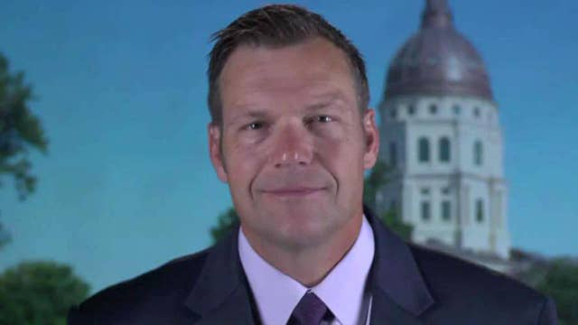 Kris Kobach: Trump endorsement gives huge boost