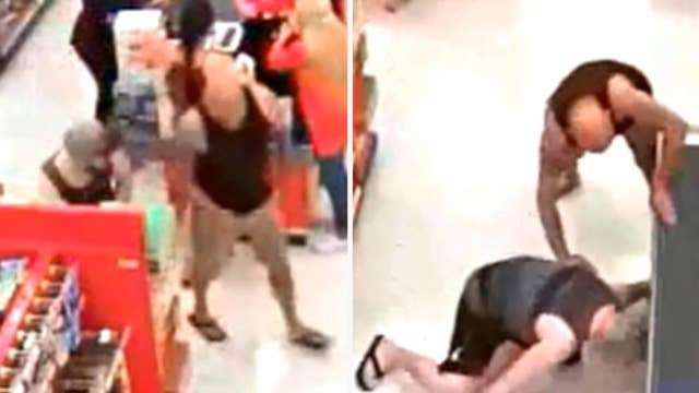 Upskirt suspect arrested after father jumps into action