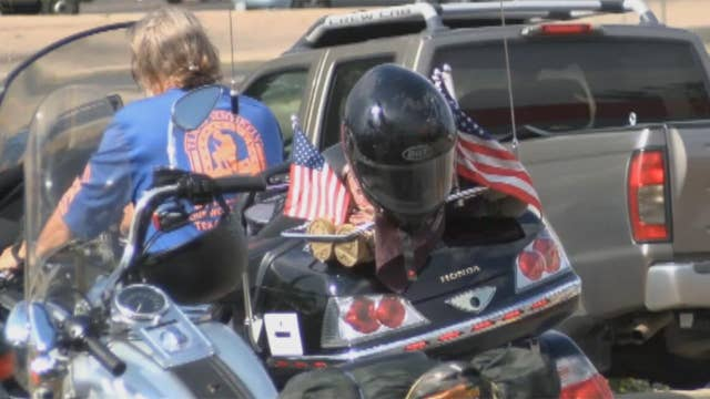 Open road therapy: Wounded warriors ride across America