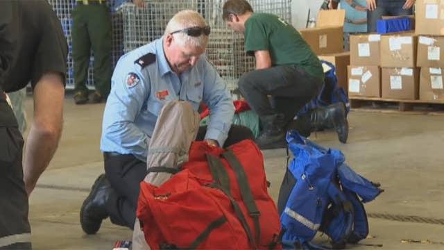 Australian firefighters join California wildfire fight