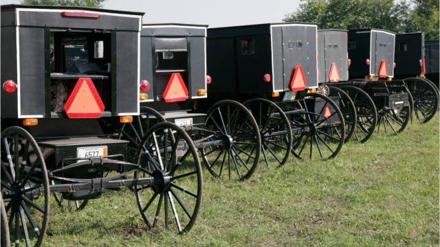 Amish man creates 'Amish Uber' using his horse and carriage