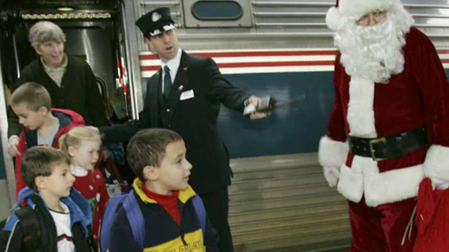 Program run by the U.S. Marines doesn't fit with new charter train policies; reaction from retired Lieutenant General Pete Osman, president and CEO of Toys for Tots Foundation.