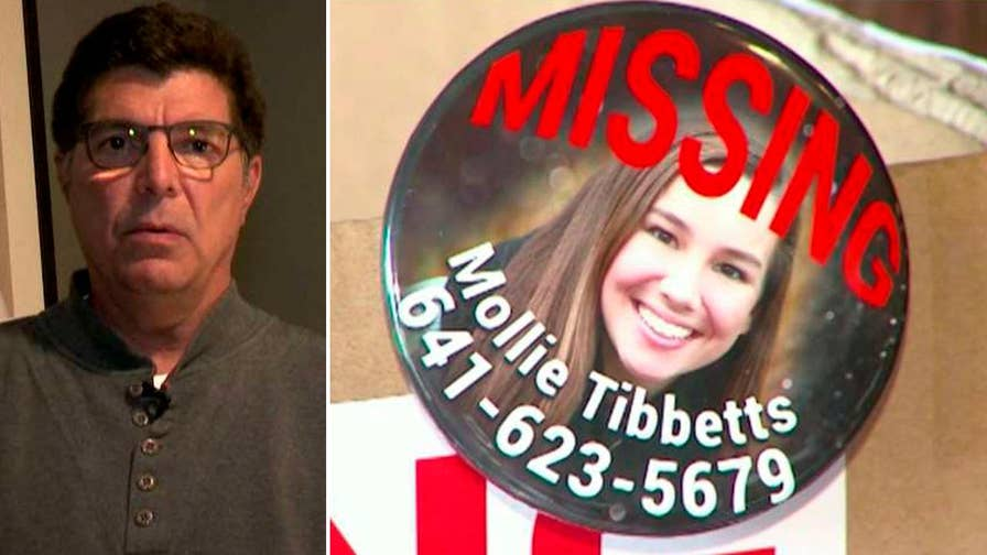 Rob Tibbetts explains why he believes his daughter Mollie may be with someone she knows who has made a 'horrible mistake' and doesn't know how to get out of it.