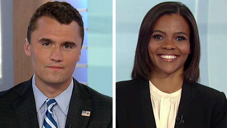 Charlie Kirk and Candace Owens on harassment in Philadelphia