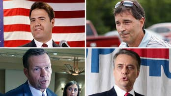 President Trump's endorsements may give close victories to Ohio House candidate Troy Balderson and Kansas gubernatorial hopeful Kris Kobach; Kristin Fisher reports on the election results.