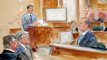 Defense team attacks Gates' credibility on cross examination; Peter Doocy reports from Alexandria, Virginia.