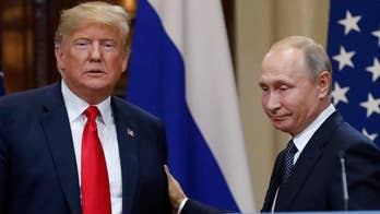 Politico cites leaked Russian document on private meeting between Presidents Trump and Putin in Helsinki, Finland; Trace Gallagher reports.