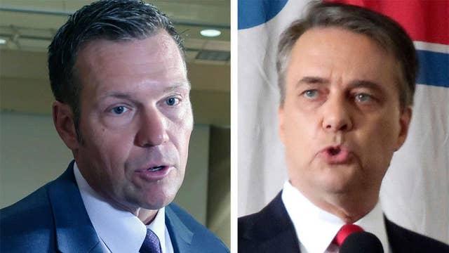 GOP gubernatorial primary in Kansas too close to call