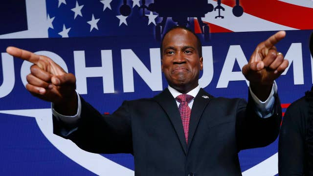 John James wins Senate Republican primary in Michigan