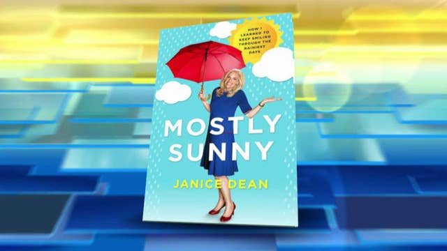 Janice Dean reveals cover for her memoir 'Mostly Sunny'