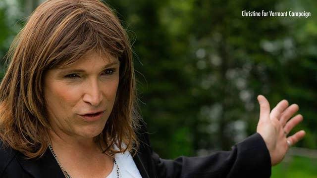 Christine Hallquist: Transgender candidate makes history