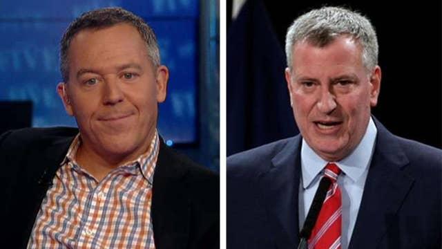Gutfeld on Mayor De Blasio blasting Fox News