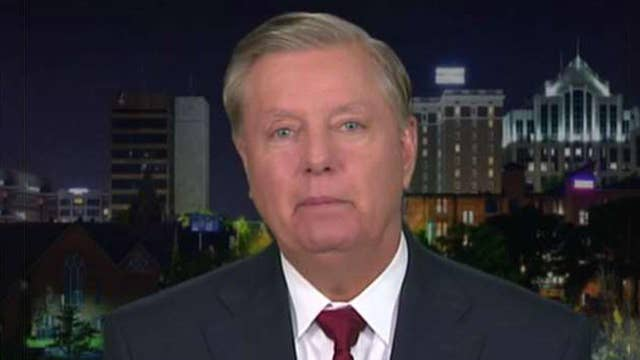 Graham on discussing Mueller probe with Trump, Iran policy
