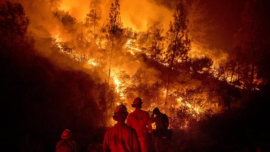 Flames continue to eat up California