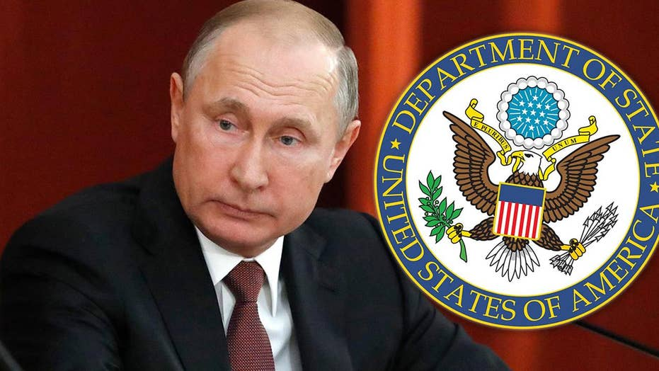State Department announces new sanctions on Russia