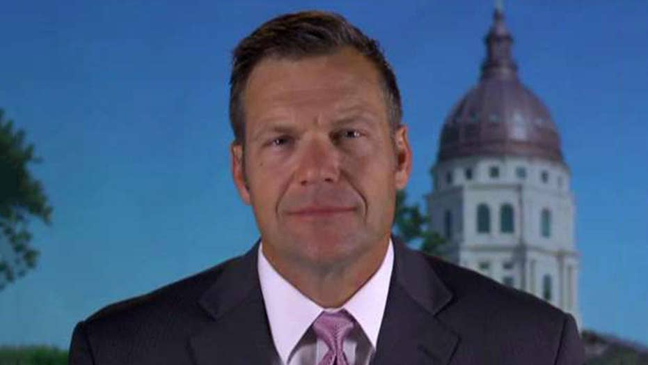 Kobach: Cutting taxes in Kansas would be my top priority