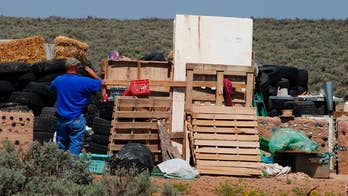 11 malnourished children rescued from a New Mexico compound linked to 'extremist Muslims' were being trained to commit school shootings, court documents show; William La Jeunesse reports.