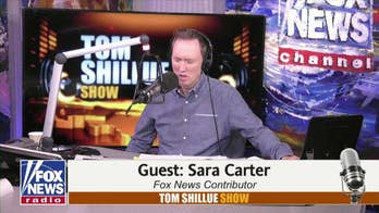 Fox News contributor Sara Carter joined      Tom Shillue. She was troubled by what appears to be a conspiracy between the Democrats, government officials and foreign agents to stop Donald Trump from getting elected in 2016.