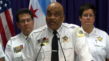 Chicago police superintendent discusses strategies to address violence.
