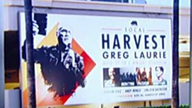 Evangelist's billboards removed from mall