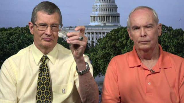 Sons react to receiving dad's dog tag from Korean War