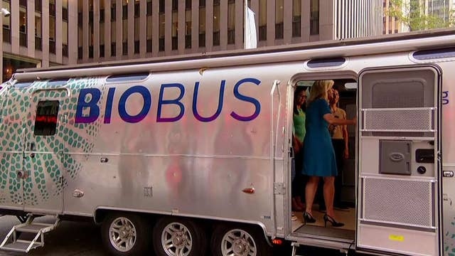 BioBus brings science to the 'Fox & Friends' Plaza