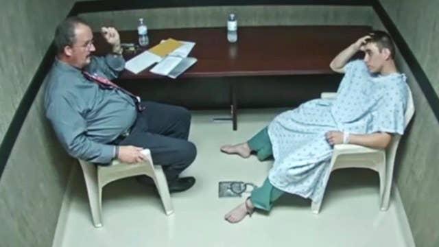 Chilling interrogation video of Parkland shooting suspect