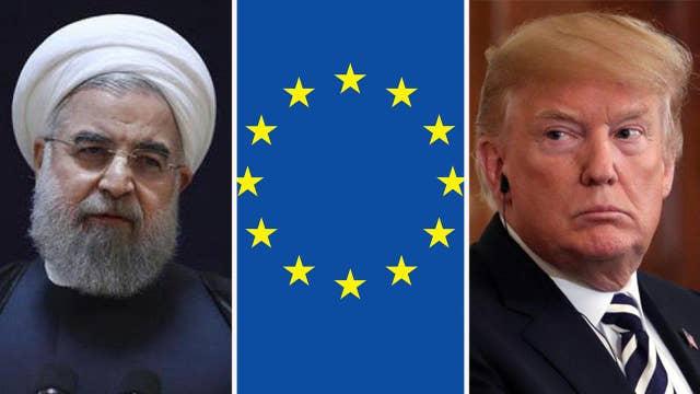 Escalating tension between US, EU on Iran sanctions