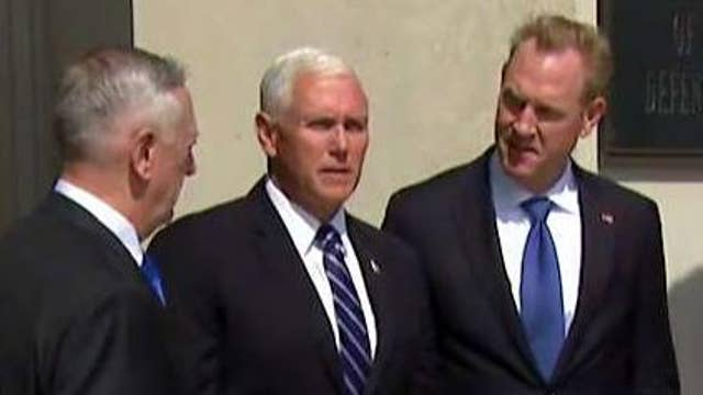 Pence to make case for space force at Pentagon