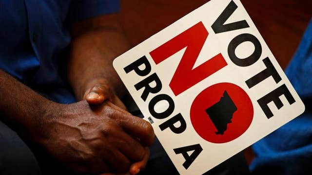 Missouri voters reject right-to-work law