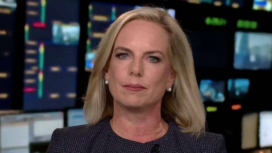 On 'Hannity,' Secretary Kirstjen Nielsen discusses the importance of cooperation between local and federal law enforcement and speaks out about protecting the homeland from drones.