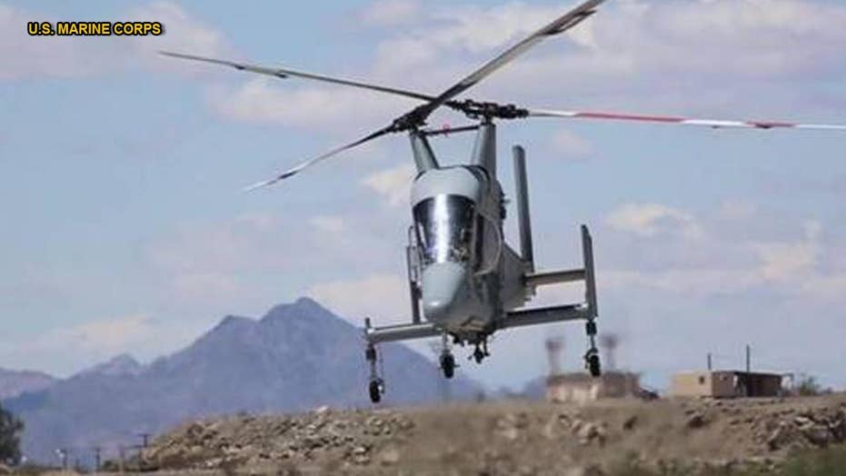 Meet K-MAX: A helicopter drone that can fight wildfires