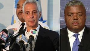 Rev. Gregory Livingston of Newhope Baptist Church in Chicago slams Mayor Rahm Emanuel's leadership.