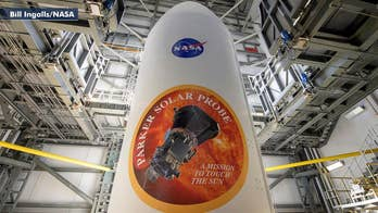 The Parker Solar Probe will use gravity assists to reach speeds of 430,000 mph as it heads for a rendezvous with the sun; Phil Keating reports from the Kennedy Space Center in Florida.