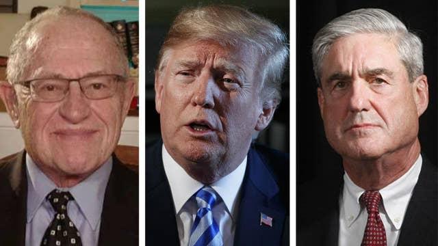 Dershowitz: Mueller-Trump interview won't happen, here's why