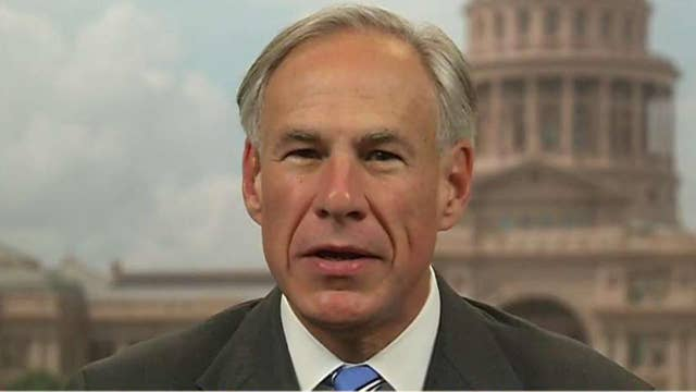 Texas Gov. Abbott talks sanctuary cities, bail reform