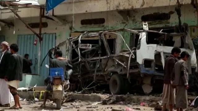 Coalition airstrike kills dozens of civilians in Yemen